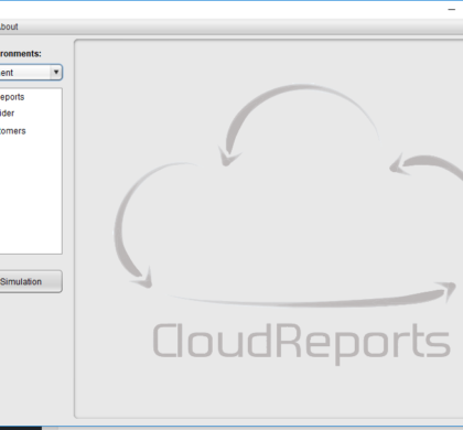 Cloud Reports cloud Iaas simulation tool