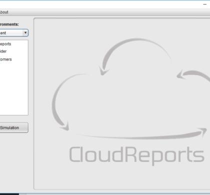 Cloud Reports cloud Iaas simulation tool