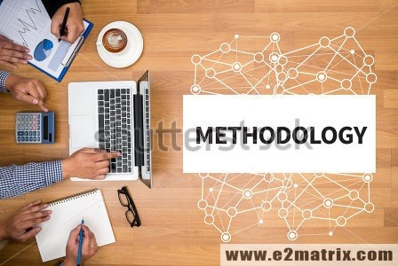 What does the methodology chapter of our synopsis comprise?