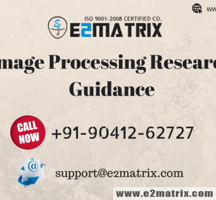 Image Processing Research Guidance & Thesis Topics list