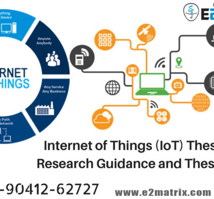 Internet of Things (IoT) Thesis Help, Research Guidance and Thesis Topics