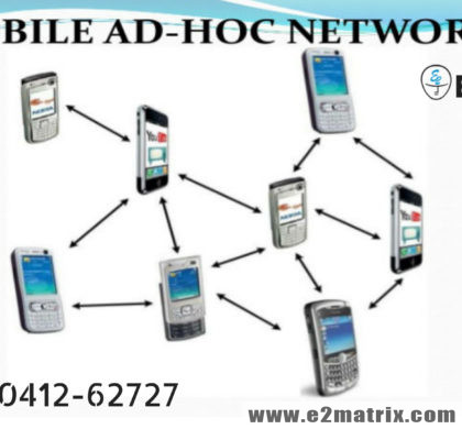 Mobile ad hoc networks (MANET) topics thesis help and research guidance