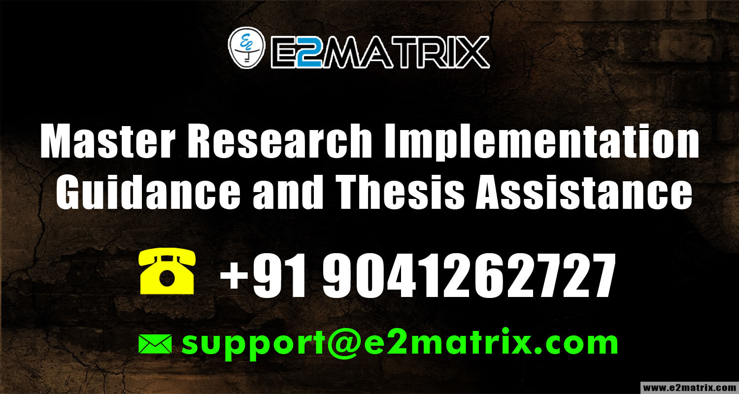 Master Research Implementation Guidance and Thesis Assistance