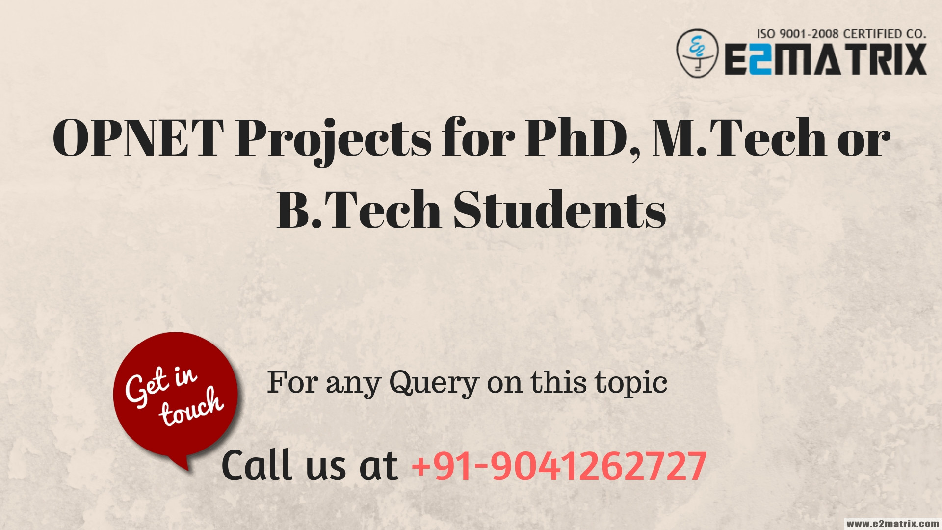 OPNET Projects for PhD, M.Tech or B.Tech students