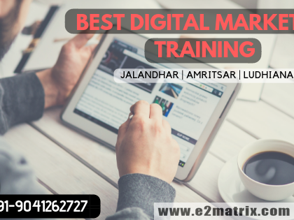 Best Digital Marketing training in Jalandhar, Amritsar and Ludhiana