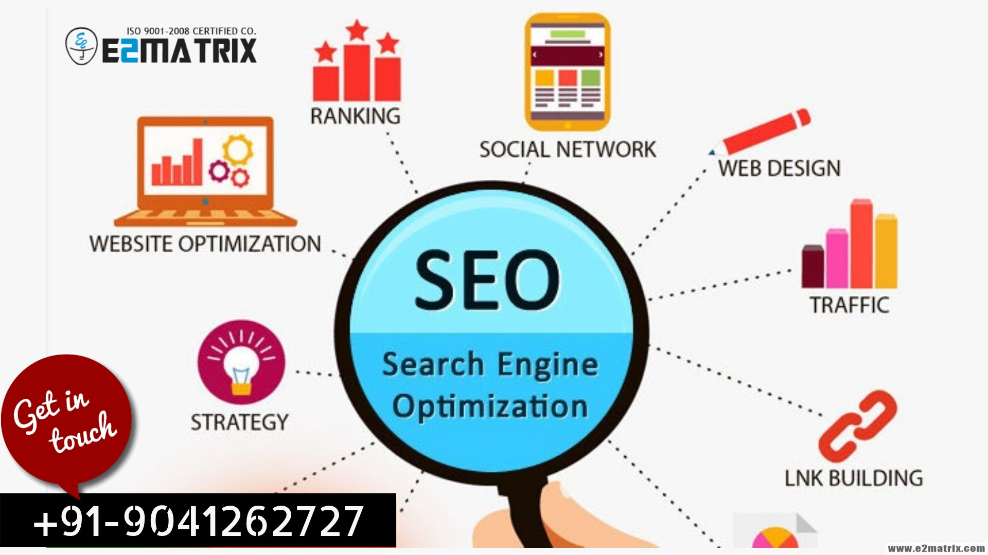 Best White hat SEO Services Company in India-+91-9041262727