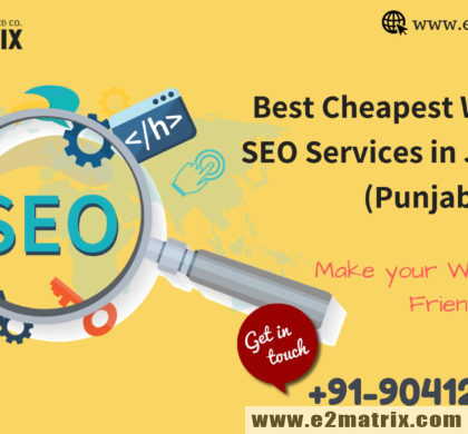 Best Top Cheapest White hat SEO Services Company in Jalandhar | Punjab.