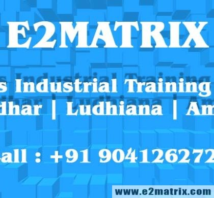 6 months industrial training for Computer (CSE) in Jalandhar Ludhiana Amritsar