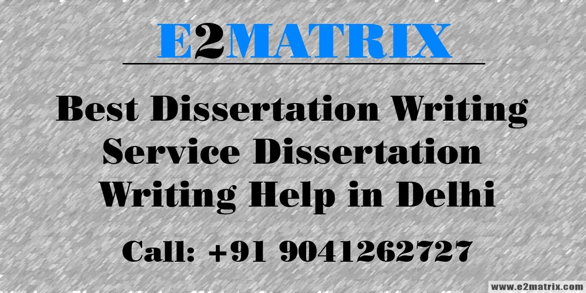Best dissertation writing 5