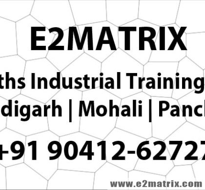 6 Months Industrial Training for me in Chandigarh Mohali Panchkula