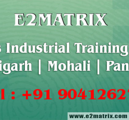 6 weeks industrial training for ECE in Chandigarh Mohali Panchkula