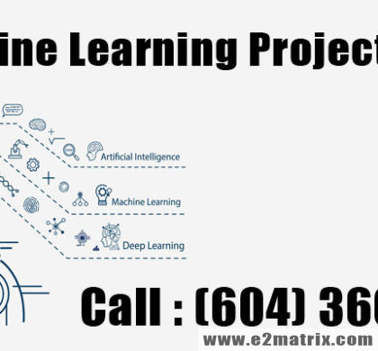 Machine Learning Projects Help in Vancouver Surrey BC Canada