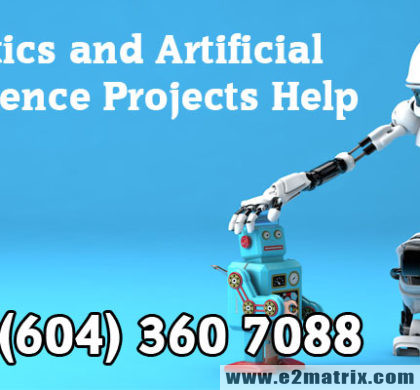 Robotics and Artificial Intelligence Projects Help