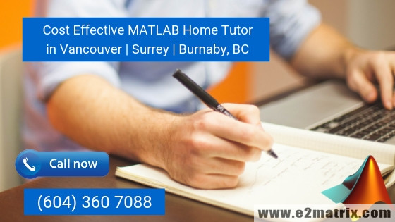 Matlab Home Tutor in Vancouver | Surrey | Burnaby BC