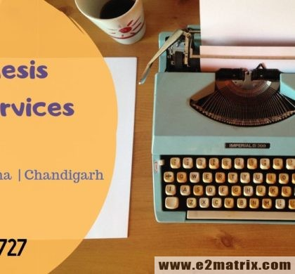 Best thesis editing services in Jalandhar | Ludhiana | Chandigarh