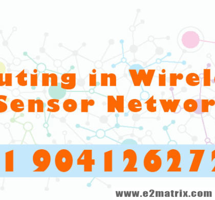 Online Thesis help on Routing in Wireless Sensor Network Topics