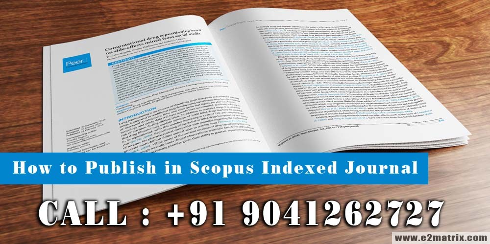 How to Publish Research Paper in Scopus Indexed Journal