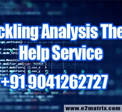 Online Buckling Analysis Thesis Topic Help for Mechanical Engg