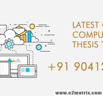 Trending Thesis Topics in Cloud Computing for M.Tech and PhD