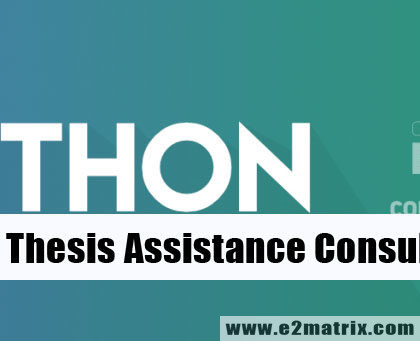Python Thesis Assistance and Consultation for M.Tech and PhD
