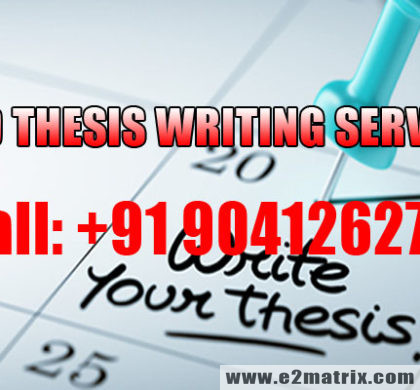 Ph.D THESIS WRITING SERVICES | Dissertation Writing Help
