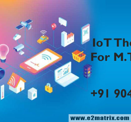 M.Tech Thesis Help in Internet of Things | PhD Thesis Help in Internet of Things (IoT)