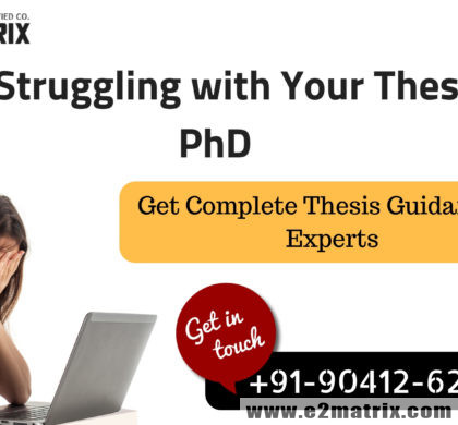 M.tech and PhD thesis help in Bathinda (Punjab)