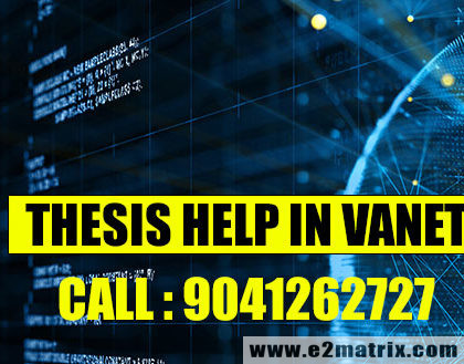 M.Tech Thesis Help in VANET | PhD Thesis Help in VANET