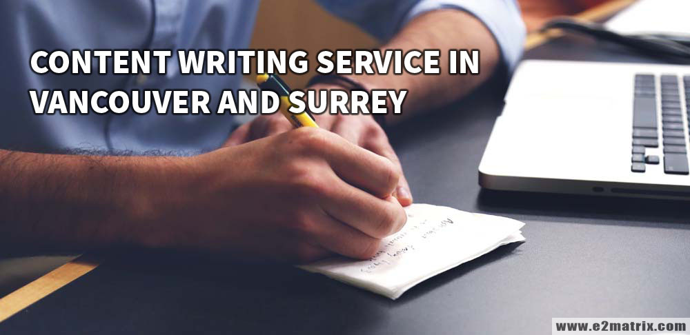 Best Content Writing help in Vancouver and Surrey BC