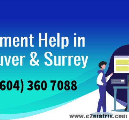 Assignment help in Vancouver BC | Assignment help in Surrey BC