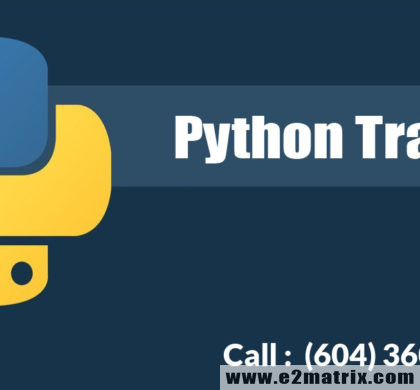 Python Course in Vancouver BC | Python Training in Vancouver BC