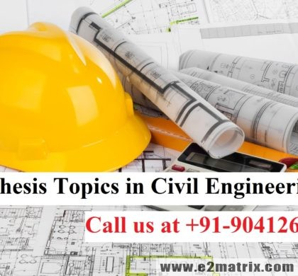 Latest Thesis Topics in Civil Engineering