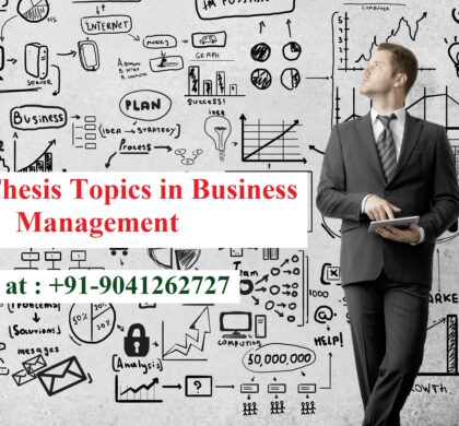 MBA Thesis Topics in Business Management