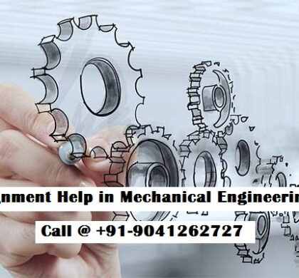 Assignment Help in Mechanical Engineering-ME