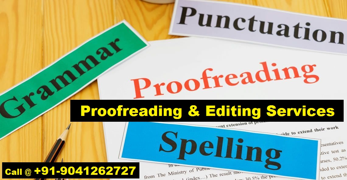 Proofreading & Editing Services