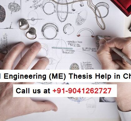Mechanical Engineering (ME) Thesis Help in Chandigarh