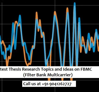 Latest Thesis Research Topics and Ideas on FBMC (Filter Bank Multicarrier)
