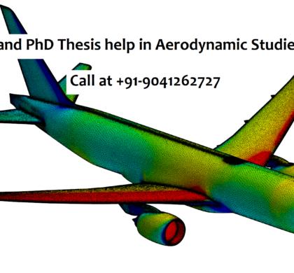 M.Tech and PhD Thesis help in Aerodynamic Studies