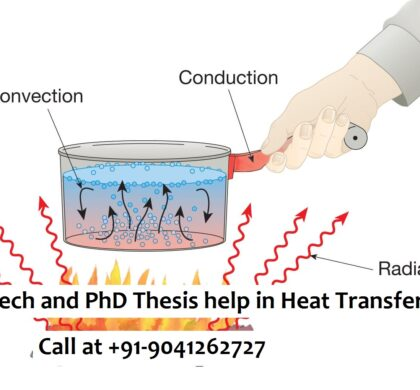 M.Tech and PhD Thesis help in Heat Transfer