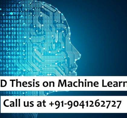PhD Thesis on Machine Learning