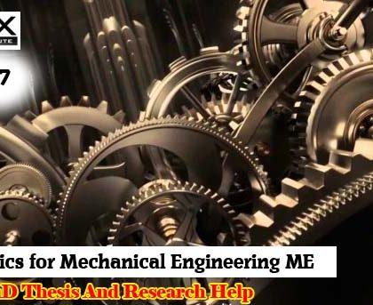 mechanical engineering dissertation topics