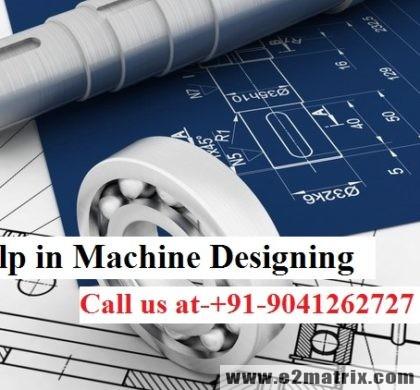Thesis help in Machine Designing